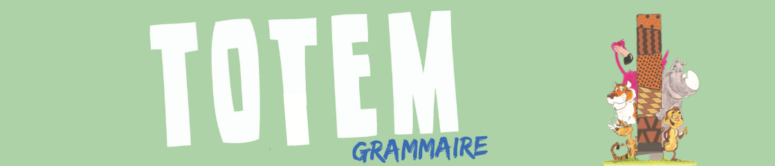 Banner Collection - Totem grammaire