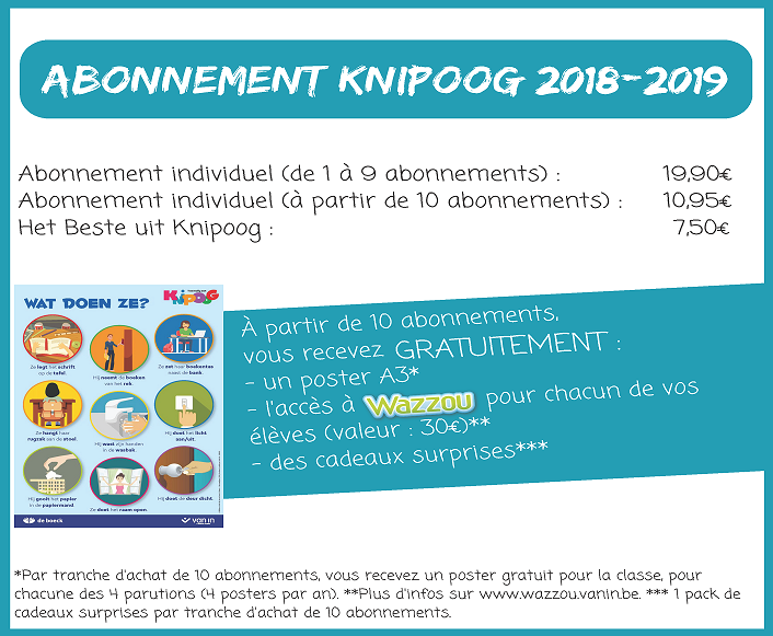 Conditions abonnement Knipoog 2018-2019 - BDC Sitecore